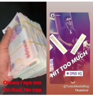 Mayorkun Dances Zanku As He Shows Off The Benefits Of Having A Hit Song